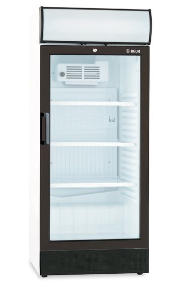 Armoire de réfrigération à porte vitrée